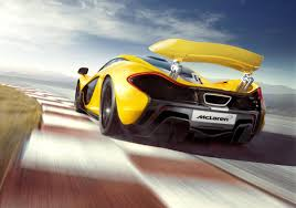 mclaren p1 side view mclaren p1 exterior rear view eurocar news