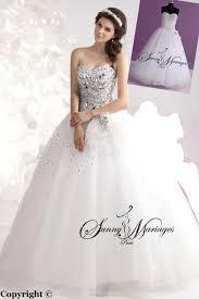 robe de mari e magnifique robe de mariage forme princesse blanche avec bustier coeur et
