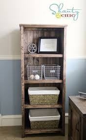 Free Standing Wood Shelves Plans by 15 Free Bookcase Plans You Can Build Right Now