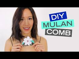 mulan hair comb diy mulan hair comb