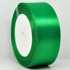 green satin ribbon 25yards 1roll 1 1 2 wide green satin ribbon for packing craft