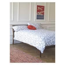 canapé king size delicat canape habitat ideas tatsuma walnut bed frame 135cm