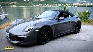 porsche 911 carrera gts porsche 911 carrera 4 gts cabrio test youtube