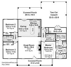 house plans with front and back porches bold idea 12 house plans with front porch and open floor plan back