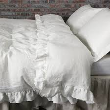 100 linen duvet cover in grey u0026 white stripe white duvet duvet