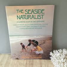 vintage coastal book the seaside naturalist vintsge homeschool