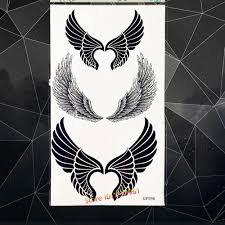 black wing tattoos promotion shop for promotional black wing
