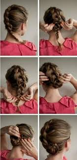 Hochsteckfrisurenen Do It Yourself by Do It Yourself Hairstyles For Hair Moved Permanently