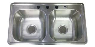 mobile home kitchen sinks 33x19 33 x19 stainless steel kitchen sink 8 d for mobile home