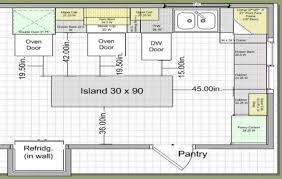 standard kitchen island size kitchen island size requirements with breakfast bars also