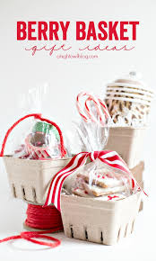 basket gift ideas easy berry basket gift ideas a owl