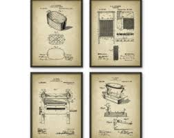 Vintage Laundry Room Decor Laundry Poster Etsy
