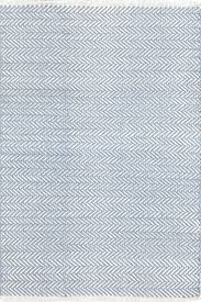 Dash And Albert Diamond by Herringbone Swedish Blue By Dash U0026 Albert Cotton Rugs
