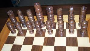 custom handcrafted wood chess set by guerrette lumber u0026 millwork