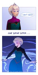 Elsa Memes - elsa does dance frozen know your meme