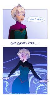 Elsa Frozen Meme - elsa does dance frozen know your meme