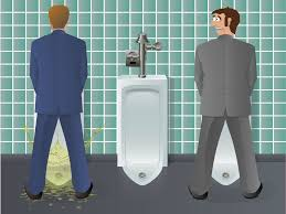 The Unfortunate Physics Of Male Urination - Going to the bathroom frequently