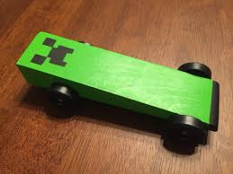 minecraft police car pinecraft creeper minecraft pinewood derby car cubscouts