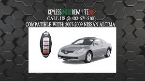 how to replace nissan altima key fob battery 2007 2008 2009 youtube