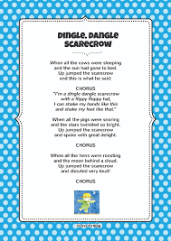 scarecrow writing paper dingle dangle scarecrow download free fun curriculum learning dingle dangle scarecrow download free fun curriculum learning activities and free song lyrics from our