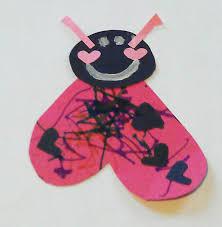 ladybug valentine heart card craft preschool powol packets