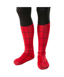 ultimate spider man child costume boot covers kids costumes
