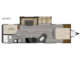 prowler cer floor plans new 2017 heartland prowler 28p bhs travel trailer at castle