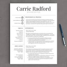 Good Resume Design Astonishing Design Professional Resume Template Free Excellent