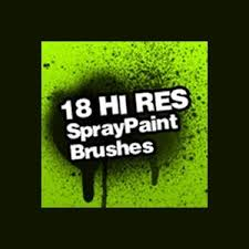 Photoshop Spray Paint - spray paint splatter brushes photoshop brushes