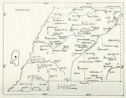 Mississippi County Map Map Of Schools Of Attala County Mississippi 1840 1976