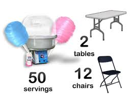 cotton candy machine rental cotton candy machine package sky high party rentals