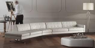 canap contemporain poltrona frau canapé modulable contemporain en cuir par jean massaud