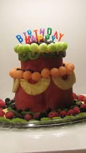 Watermelon Cake Decorating Ideas 25 Best Fruit Cakes Not Fruitcakes Images On Pinterest