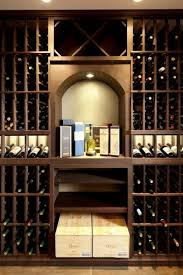 luxurious custom wine cellar design for a high end home in west