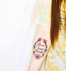 brave honest beautiful wreath tattoo inspiration pinterest