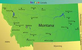 Map Of Montana by Montana Map Blank Political Montana Map With Cities