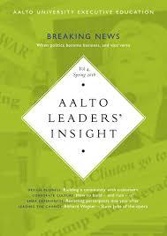 aalto leaders u0027 insight vol 4 spring 2016 by räty salovaara