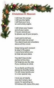 christmas prayer from heaven for you mom pinterest