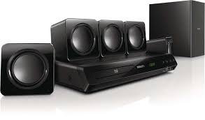 home theater box 5 1 dvd home theater htd3509 98 philips