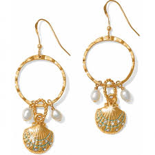 wire earrings aqua shores aqua shores shell wire earrings earrings