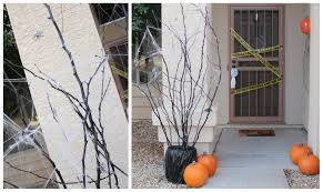 Outdoor Halloween Decorations Spiders by Spooky Halloween Decoration Ideas And Crafts 2015