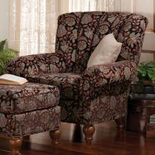 Patio Chair And Ottoman Set Exterior Mesmerizing Dark Wicker Patio Chair And Ottoman Set By