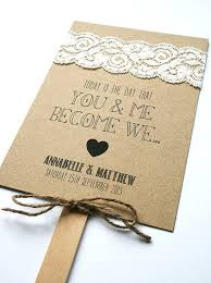 wedding fans programs wedding programs fans wedding ideas