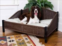wicker dog beds with legs u2014 bitdigest design a classic wicker