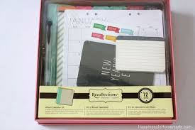 Recollec - holiday gift ideas michaels recollections calendar kit