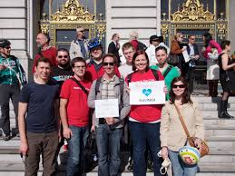 san francisco rackers celebrate bike to work day the official