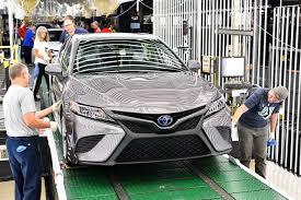 gia xe lexus o my toyota camry 2018 chính thức đi vào sản xuất
