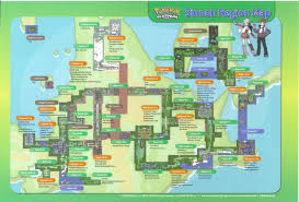 Hoenn Map To Celebrate The Finale Of The Sixth Generation Here U0027s A Map Of