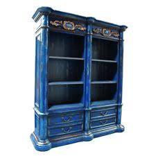 blue bookcases ebay