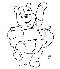 winnie pooh coloring pages print kids coloring